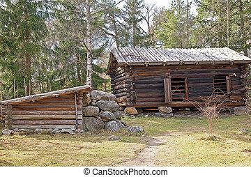 finlandês, vila