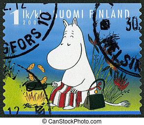 FINLAND - 2007: shows Moominmamma, Moomin characters