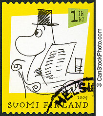 FINLAND - 2009: shows Moomin characters