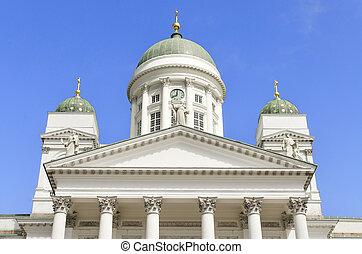 finland., cathédrale, helsinki