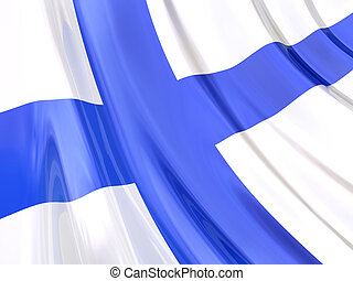 Finland Flag - Glossy Flag of Finland.