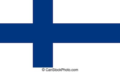 Finland Flag illustration,textured background, Symbols and official flag of Finland