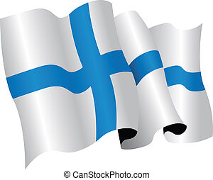finland flag - national flag of finland