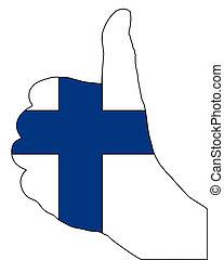 Finland hand signal