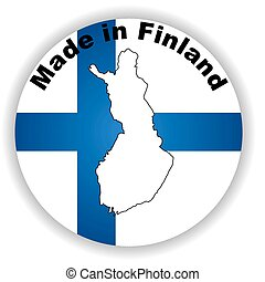 finland - This is vector made in finland