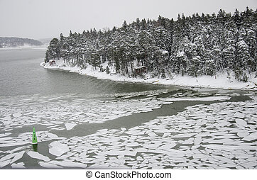 Finland - Nature in winter - Nasty weather - Landscape - Northern Europe