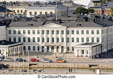 Finland Presidential palace - The Finland Presidential...