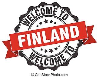 Finland round ribbon seal