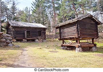 finlandais, village