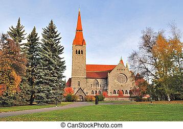 finlande, cathédrale, tampere