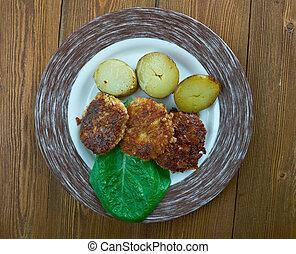 finlandese, salisbury, bistecca