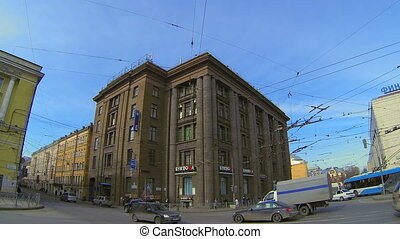 Finlyandsky railway station in St. Petersburg
