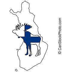 Finnish moose