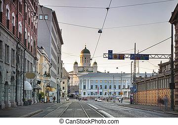 finnland, stadt, hauptstadt, helsinki