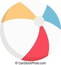 fins vector colour flat icon