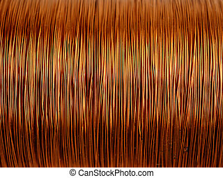fio cobre, fundo