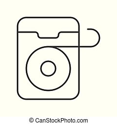 Esboço Dental Vetorial Icon Implante Illustration Site Web