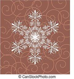 fiocco di neve, bellezza