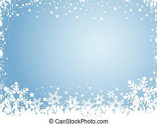 fiocco di neve, fondo