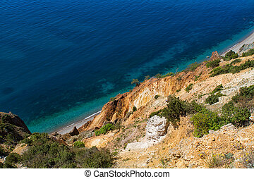unny view of the Black Sea