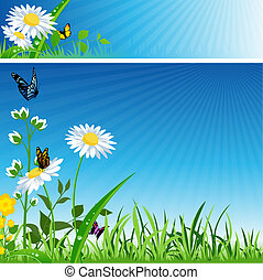 fiore, bandiera
