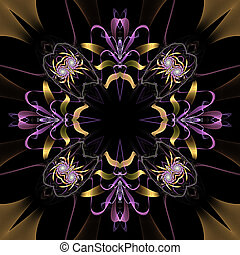 fiore, fractal