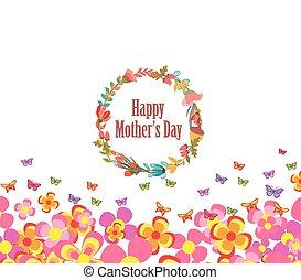 fiore, giorno, madri