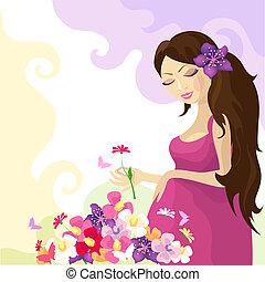 fiore, incinta
