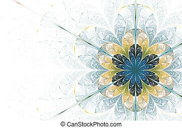 fiore, lucente