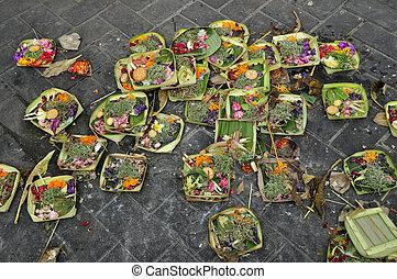 fiore, offerta, bali