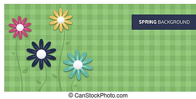 fiore primaverile, fondo