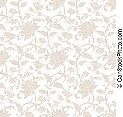 fiore, reale,  seamless, carta da parati