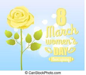 Fiori Gialli Gambo Lungo.Fiore Elegante Primavera Narciso Leaves Giallo Gambo