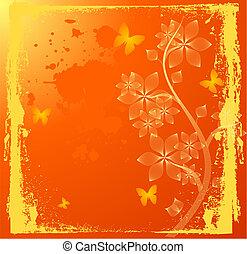 fiori arancia