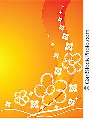 fiori arancia, scheda