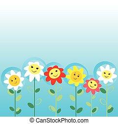 fiori, campo
