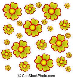 fiori, fondo
