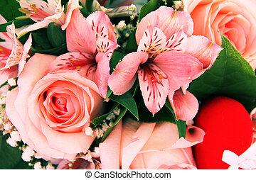 fiori, mazzo