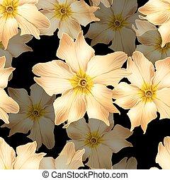 fiori, oro