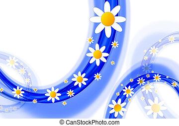 fiori primaverili, disegno