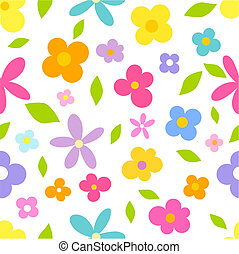 fiori, seamless