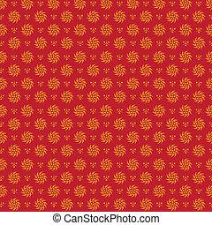 fiorire, pattern., seamless