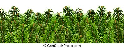 fir树, 边界