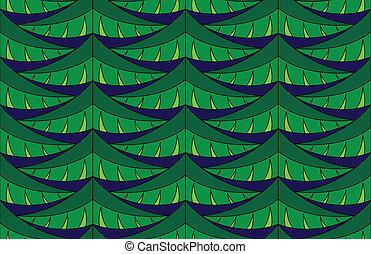 Fir seamless pattern