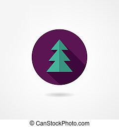fir-tree, ícone