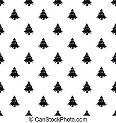 Fir tree pattern, simple style - Fir tree pattern. Simple...