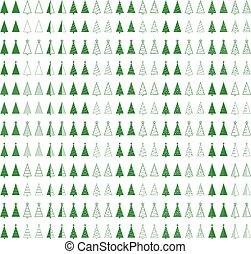 fir tree set