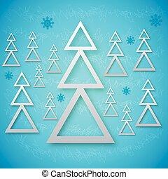 fir trees background