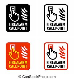 """""""Fire alarm call point"""" safety"""