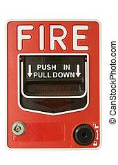 fire alarm pull station